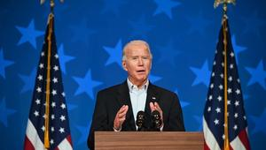 Biden rallies for struggling Democrat in key governor's race
