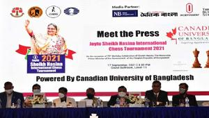 শেখ হাসিনা আন্তর্জাতিক দাবা শুরু রোববার