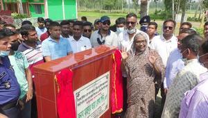করোনাকালেও উন্নয়ন কাজ থেমে নেই: হুইপ গিনি