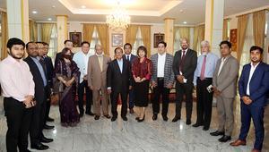 নবনিযুক্ত থাই রাষ্ট্রদূতের সাথে ঢাকাস্থ থাই এম্বেসির সাক্ষাৎ