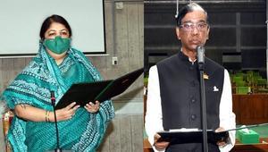 Dr Pran Gopal sworn in as MP