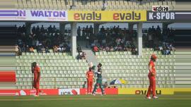 সিলেট আন্তর্জাতিক ক্রিকেট স্টেডিয়ামে বাংলাদেশ-জিম্বাবুয়ের মধ্যকার ওয়ানডে সিরিজের প্রথম খেলার কিছু দৃশ্য। ছবি: আবু বকর।