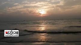 মনোমুগ্ধকর কুয়াকাটা সৈকত