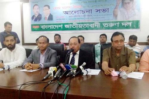 সরকার সংলাপে বসতে বাধ্য হবে: মওদুদ