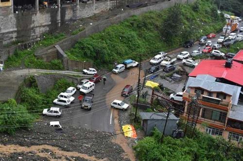সিমলায় ১১৭ বছর পর সর্বোচ্চ বৃষ্টিপাত
