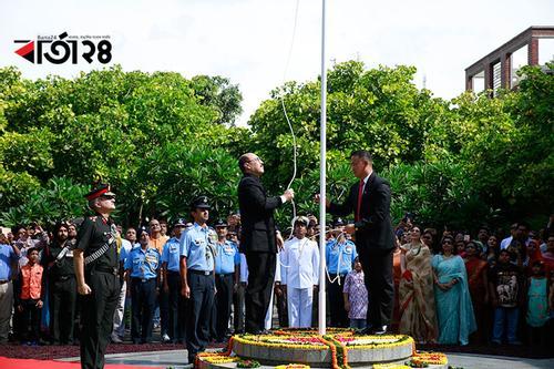 ঢাকায় ভারতের স্বাধীনতা দিবস উদযাপন