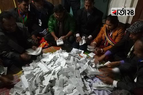 মংলা-রামপালে চলছে ভোট গণনা