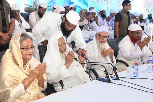 আমার কোনো রাজনৈতিক পরিচয় নেই: আল্লামা শফী