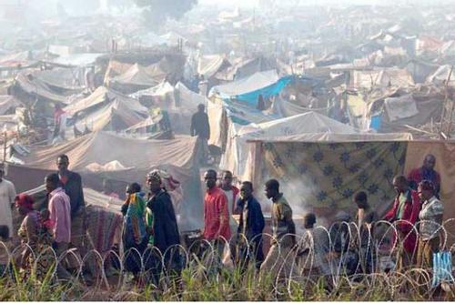 শরণার্থী শিবিরে হামলায় ৪০ জন নিহত