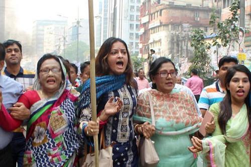 রিমান্ড শেষে বিএনপি নেত্রী নিপুণ রায়সহ ৭ জন কারাগারে