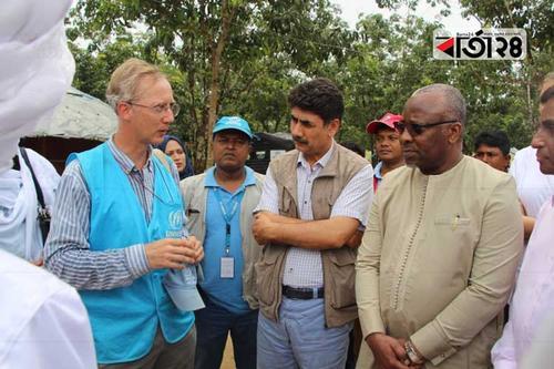 রোহিঙ্গা ক্যাম্পে ওআইসির প্রতিনিধি দল