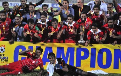 ভারতকে হারিয়ে সাফ ফুটবলে চ্যাম্পিয়ন মালদ্বীপ