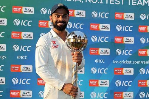 ফের টেস্টের সেরা কোহলির ভারত
