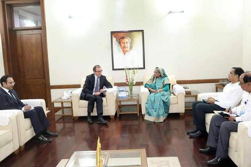 PM stresses on the safe return of the Rohingyas