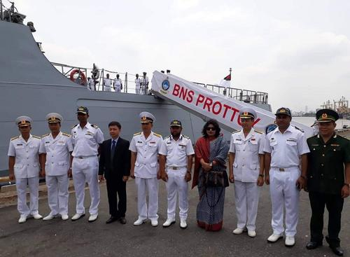 বাংলাদেশ নৌবাহিনী জাহাজের ভিয়েতনামে শুভেচ্ছা সফর