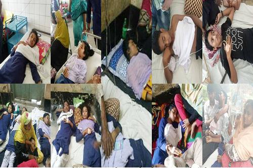 শার্শায় ম্যাস হিস্টিরিয়ায় আক্রান্ত হয়ে ৩০ শিক্ষার্থী হাসপাতালে