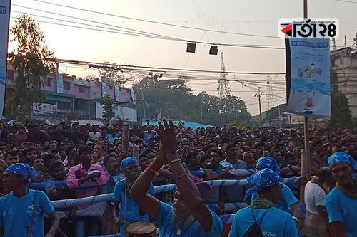 চট্টগ্রামে জব্বারের বলীখেলায় দর্শনার্থীদের ঢল