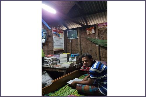 এইচএসসি পরীক্ষার্থী হুমায়ুনের বাড়িতে সৌরবিদ্যুৎ স্থাপন