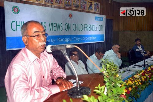রংপুর সিটিতে 'শিশু ডেস্ক' চালু হবে: মেয়র