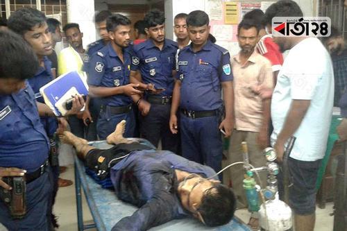 চুনারুঘাটে 'বন্দুকযুদ্ধে' ডাকাত নিহত, ৩ পুলিশ আহত