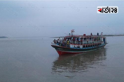পাটুরিয়া-দৌলতদিয়া নৌরুটে লঞ্চ চলাচল বন্ধ