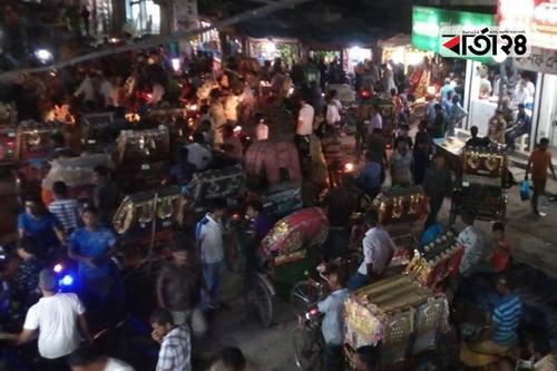যানজটের শহর গাইবান্ধা