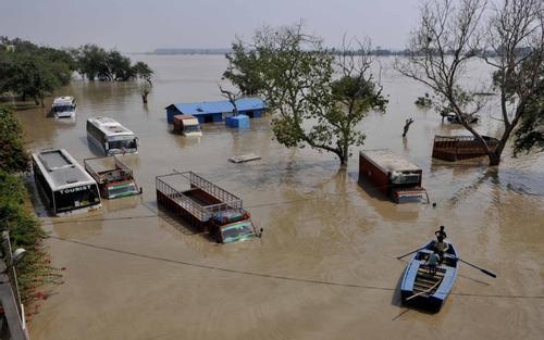 India issued a fresh flood alert