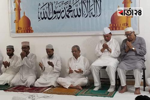 খালেদা জিয়ার সুস্থতা কামনায় বিএনপির দোয়া মাহফিল