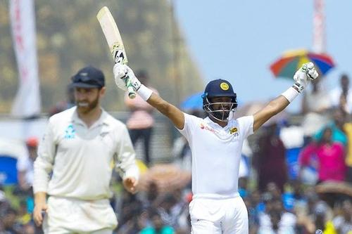 Karunaratne propels Sri Lanka to win first test against New Zealand