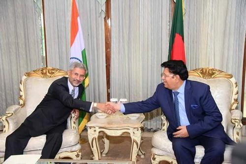 Bilateral meeting between two foreign ministers begins at Jamuna