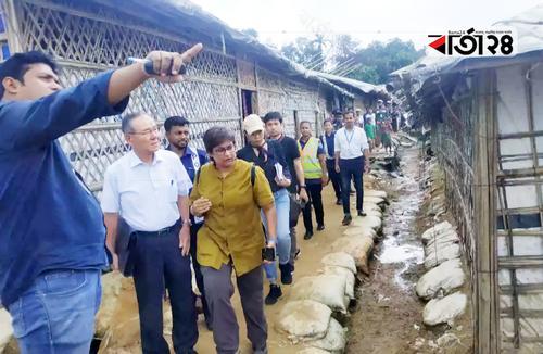 রোহিঙ্গা ক্যাম্প পরিদর্শনে মিয়ানমারের তদন্ত দল