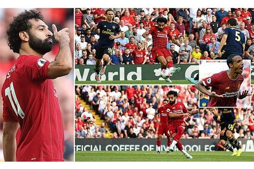 Liverpool outclasses Arsenal by 3-1, remain top spot in EPL