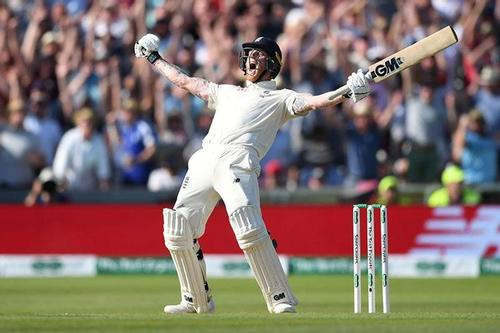 Magnificent Stokes century levels Ashes series