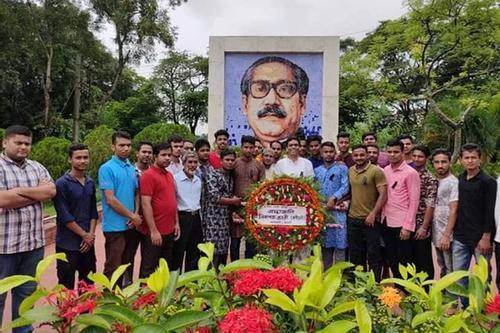 শোক দিবসে শাবিপ্রবি প্রক্টরের হাসিমাখা ছবি ভাইরাল