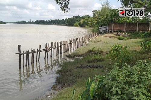 পটুয়াখালীতে নদী দখল: বন্ধের উদ্যোগ নেই কর্তৃপক্ষের