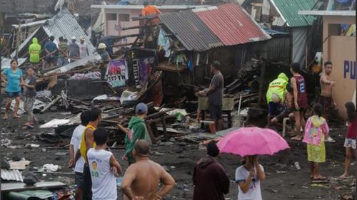 ফিলিপাইনে আঘাত হানল 'কাম্মুরি', ঘরবাড়ি ক্ষতিগ্রস্ত