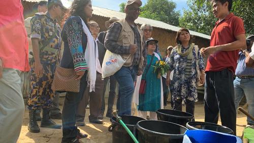 ইউএসএআইডি মিশন প্রধানের পার্বত্য চট্টগ্রাম সফর