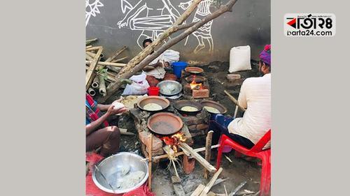 শিল্পকলায় কালাই রুটি উৎসব