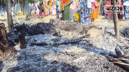 সাদুল্লাপুরে জমি নিয়ে বিরোধের জেরে গৃহবধূ খুন