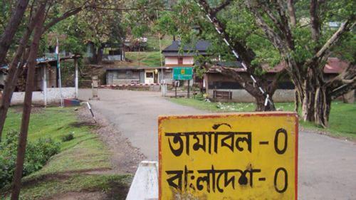 তামাবিল সীমান্ত দিয়ে ভারতে পর্যটক প্রবেশে বাধা