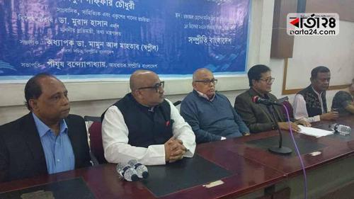 'Sheikh Hasina is indispensible for Awami League'– Gaffar Chowdhury