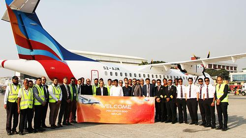NOVOAIR added 7th aircraft in fleet