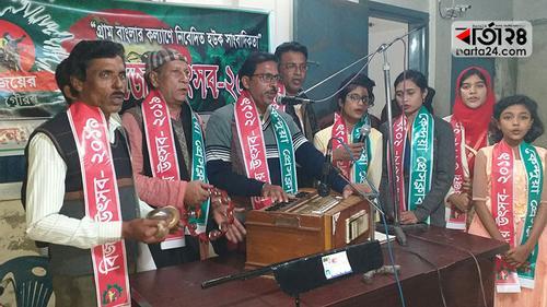 কেন্দুয়া প্রেসক্লাবে বিজয় উৎসব শুরু