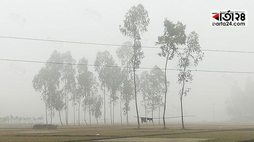 মৃদু শৈত্যপ্রবাহে কাঁপছে কুড়িগ্রাম
