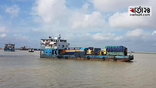 Ferry service resumes