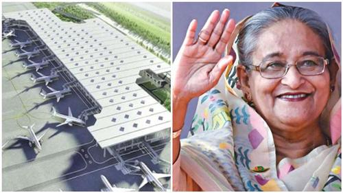 PM inaugurates HSIA 3rd terminal construction work