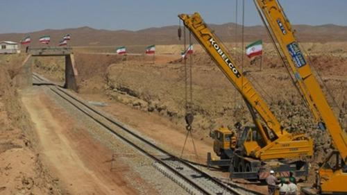 Iran–Afghanistan rail connection is underway