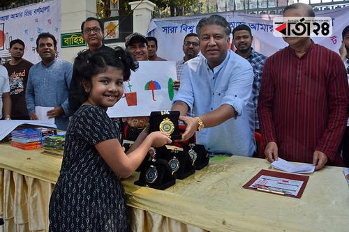 নাছিরাবাদ হাউজিং সোসাইটি ক্লাবের চিত্রাঙ্কন প্রতিযোগিতা
