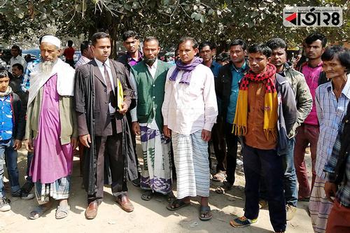 ঠাকুরগাঁওয়ে আদালতে বিজিবি'র বিরুদ্ধে মামলা