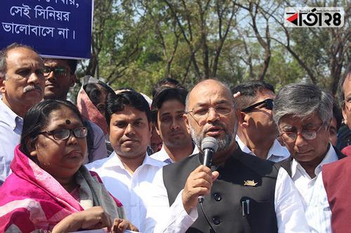 'র্যাগিং নয় ভালবাসা দিয়ে মন জয় করতে হবে'
